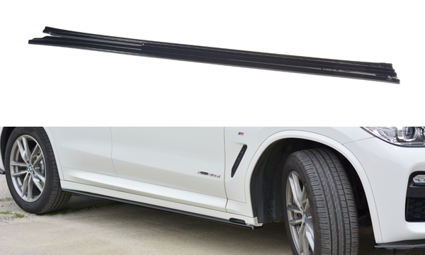 BMW - X3 G01 - M-PACK - Side Skirts Diffusers