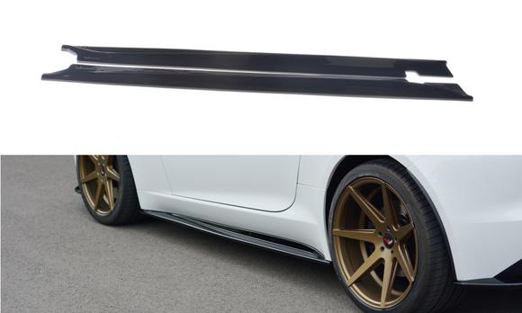 Jaguar - F-Type - Side Skirts Diffusers