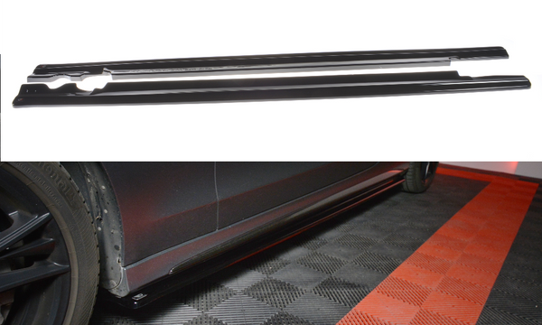Mercedes - C-Class - Coupe - AMG-Line - W205 - Side Skirt Diffusers