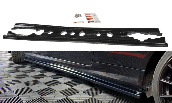 Mercedes - E - Class - W207 - Side Skirts Diffuser