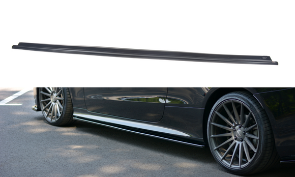 Mercedes - E - Class - AMG - LINE - W213 - Side Skirts Diffuser
