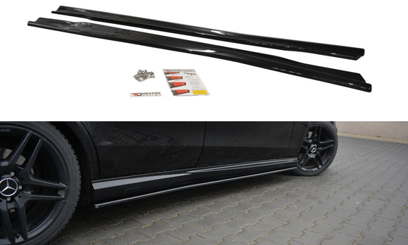 Mercedes - E - Class - E63 AMG - W212 - Side Skirts Diffuser