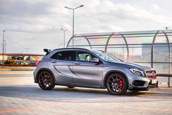 Mercedes - GLA - 45 AMG - X156 - Side Skirts Diffusers - Preface