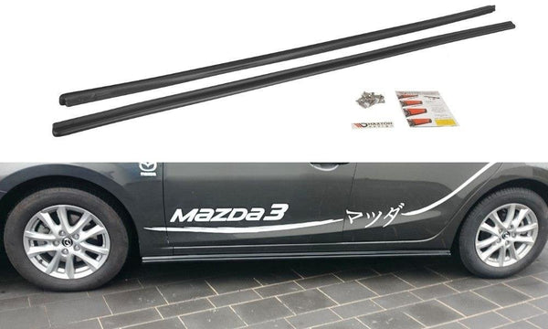 MAZDA - 3 - MK3 FACELIFT - SIDE SKIRTS DIFFUSERS