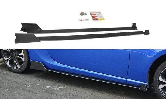 RACING SIDE SKIRTS DIFFUSERS SUBARU BRZ FACELIFT