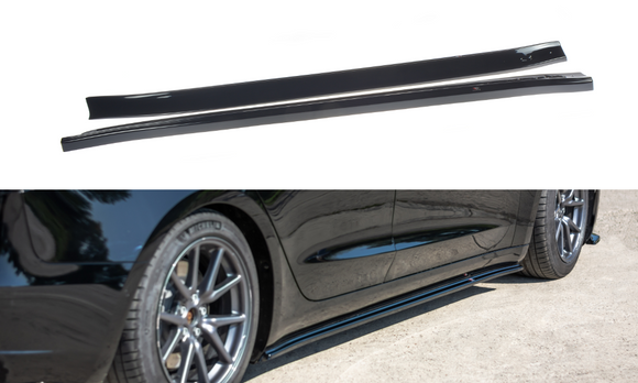 Tesla - Model 3 - Side Skirts Diffuser