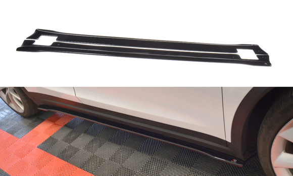 Tesla - Model X - Side Skirts Diffuser - V2