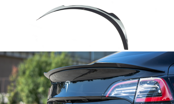 Tesla - Model 3 - Rear Spoiler Extension