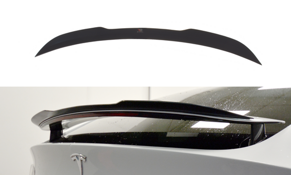Tesla - Model X - Rear Spoiler Extension - V1