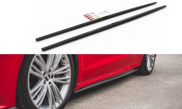 Audi -  A7 S-LINE C8 - Side Skirts Diffusers