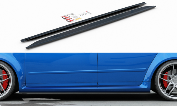 Audi - RS4 B7 - Side Skirt Diffusers