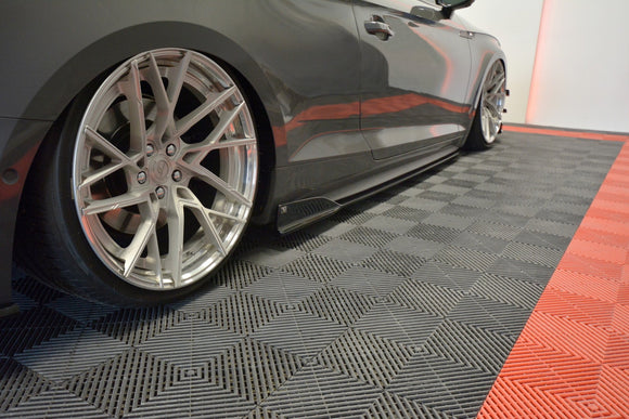 Audi - B9 - S5 - Side Skirts Diffusers