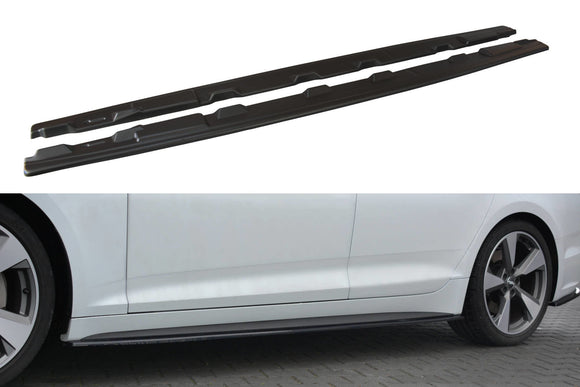 Audi - A5 B9 - S-Line - Side Skirt Diffusers - Sportback