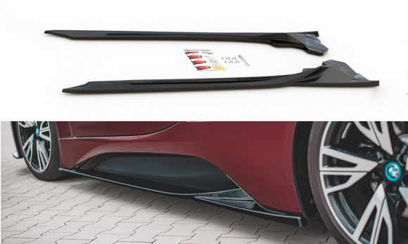 BMW - i8 - Side Skirts Diffusers - V1