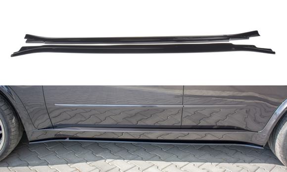 BMW - X5 - E70 FACELIFT - M-PACK - Side Skirts Diffusers