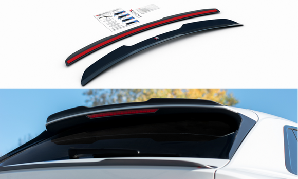 Audi - Q8 - S-LINE - MK1 - Rear Spoiler Extension - V1