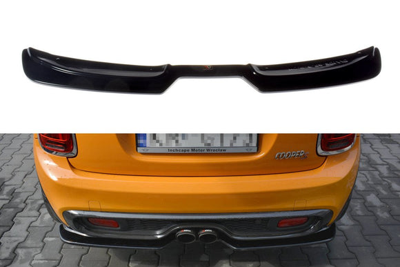 Mini - Cooper S - F56 - Preface - Central Rear Splitter