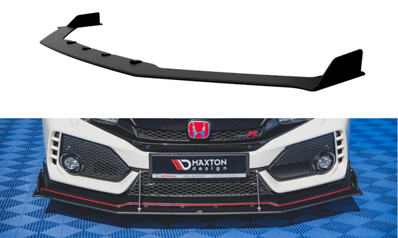 Honda - Civic X - Front Durability Racing Splitters - Type R - V2