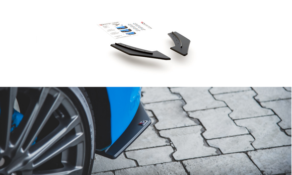 Ford Focus - MK3 RS - Racing Durability Rear Side Splitters