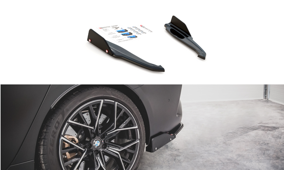 BMW - 8 Series - F93 - M8 Grand Coupe - Rear Side Splitters - V1 + WINGS