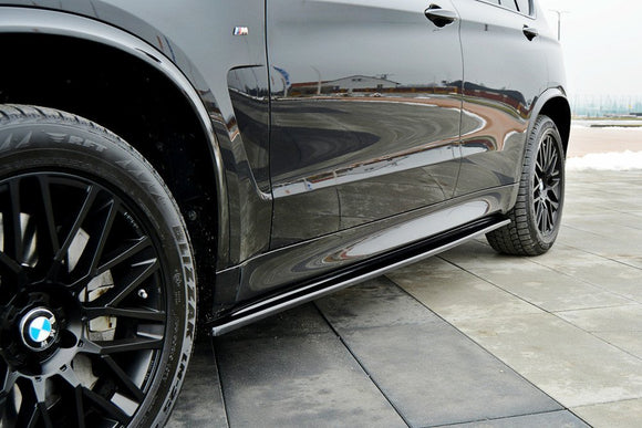 BMW - X5 - F15 - M-PACK - Side Skirts Diffusers