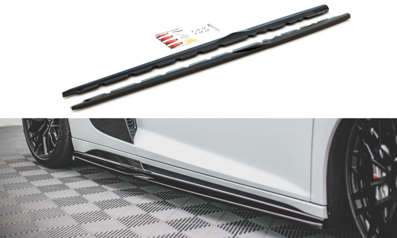 Audi - R8 - MK2 FACELIFT - Side Skirts Diffusers