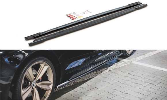 Audi - B9 - RS5 - Facelift - Side Skirts Diffusers - Sportback