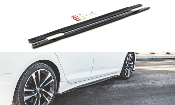 Audi - A5 / S5 - B9 - S-Line - Side Skirt Diffusers - Sportback - FACELIFT