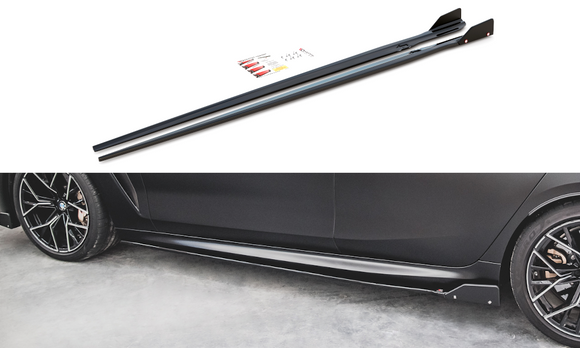 BMW - 8 Series - F93 - M8 Grand Coupe - Side Skirts - V1 + WINGS