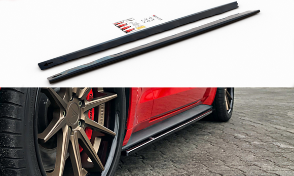 Ford Mustang - MK6 Facelift - Side Skirts Diffusers