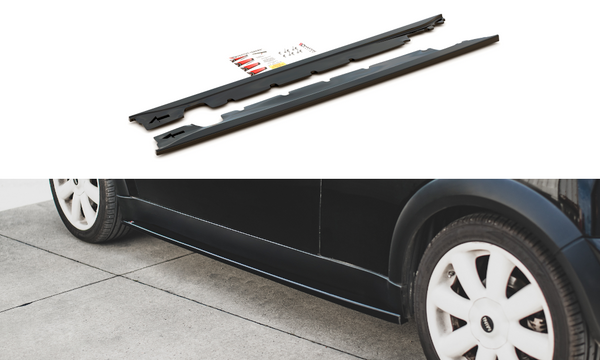 Mini - Cooper - R50 - Side Skirts Diffusers