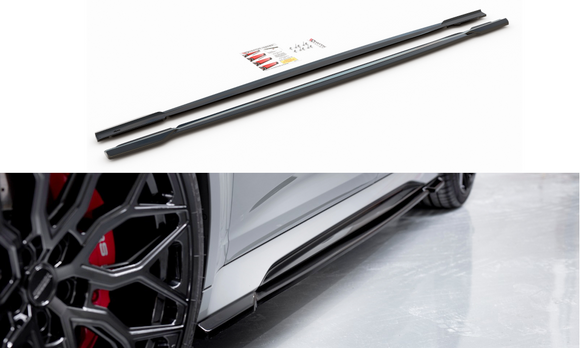 Audi - RS6 C8 - Side Skirts Diffusers - V1