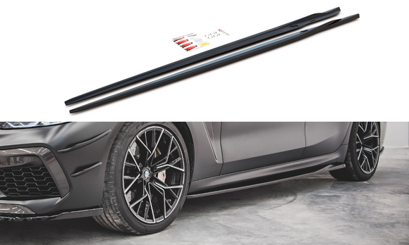 BMW - 8 Series - F93 - M8 Grand Coupe - Side Skirts - V2