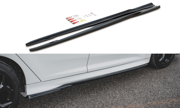 Ford Focus - MK3 ST - Facelift / Preface - Side Skirts Diffusers - V2