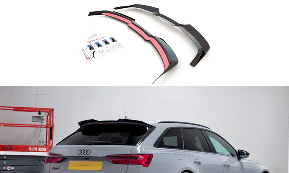 Audi - RS6 C8 - Spoiler Extension - V2