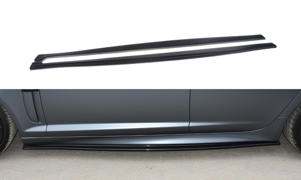 Jaguar - XF - R - Side Skirts Diffusers