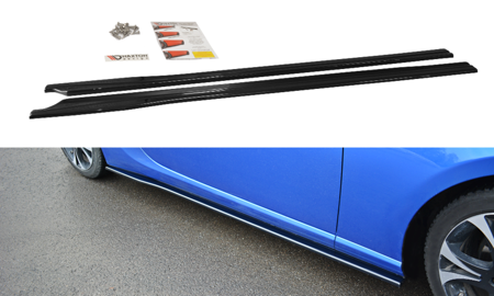 SIDE SKIRTS DIFFUSERS V.1 SUBARU BRZ FACELIFT