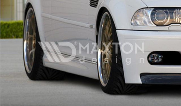 BMW - 3 Series - E46 - Coupe & Cabrio - Side Skirts - M3 Look
