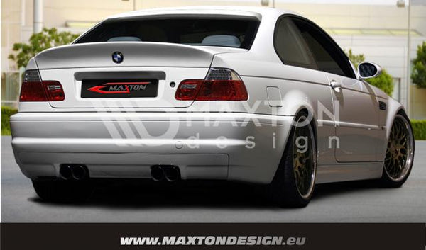 BMW - 3 Series - E46 - Coupe & Cabrio - Rear Bumper - M3 Look with M3 Exhaust Vent
