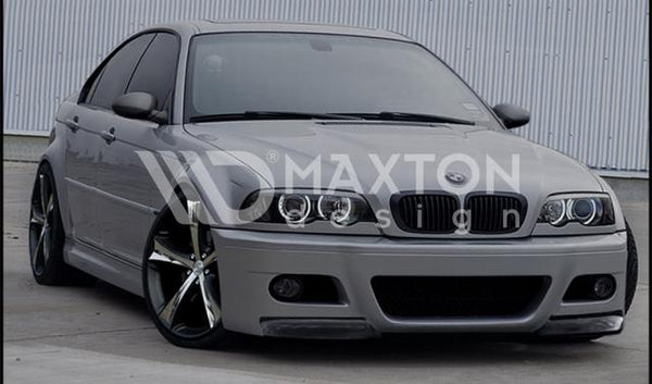 BMW - 3 Series - E46 - 4 Door Sedan - Front Bumper - M3 Look