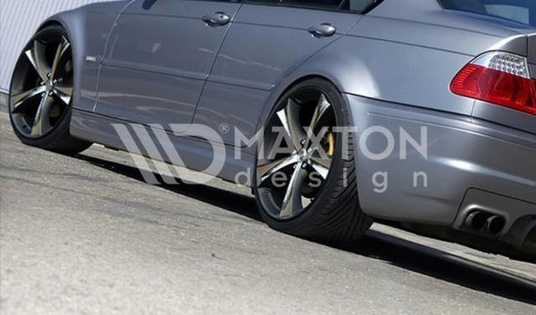 BMW - 3 Series - E46 - 4 Door Sedan - Side Skirts - M3 Look