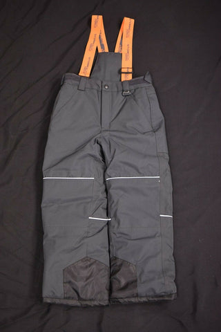 Stormpack Sunice Kid's Charcoal & Orange 3M Thinsulate Snow Pants