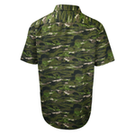 Levi's Men's Green Camouflage S/S Woven Shirt
