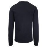 Calvin Klein Men's Black Crewneck Knit L/S Pullover Sweater (S05)