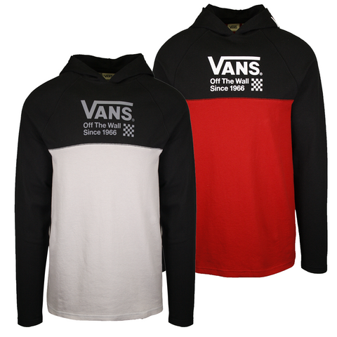 Vans Off The Wall Men's Lightweight Ryder Block-K Pullover Hoodie (S19)