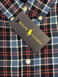Ralph Lauren Boy's B36 Checked S/S Woven Shirt