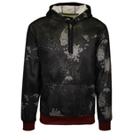 Ecko Unltd. Men's Black String Camo Pull Over Hoodie (S08)