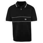 OBEY Men's Classic Color Block Zip S/S Polo Shirt (S25)