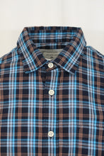Quik Silver Men's Blue Everyday Check S/S Woven Shirt (Retail $44)