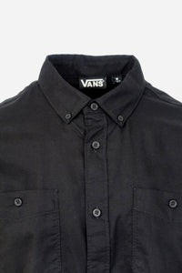 Vans Off The Wall Men's Black Walkover 2-J S/S Woven Shirt (Retail $44)